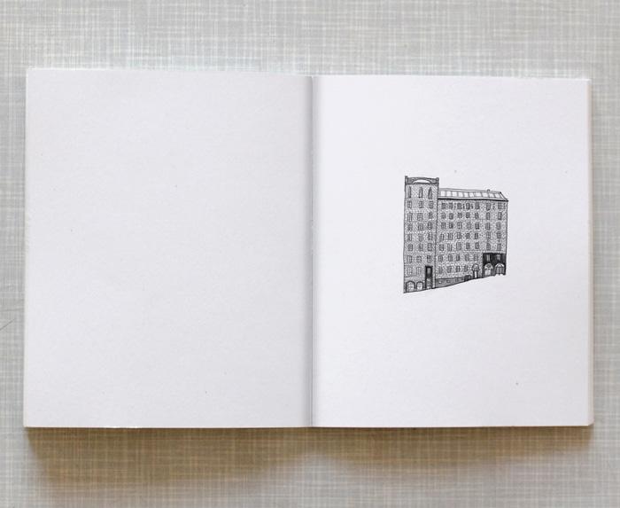 Artist book Home Taiteilijakirja Koti: A house from Kallio Helsinki