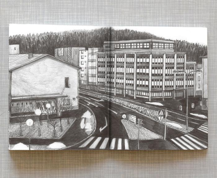 Artist book Home Taiteilijakirja Koti: View from Lahti