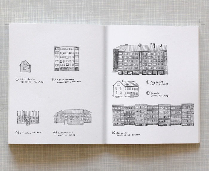 Artist book Home Taiteilijakirja Koti Index